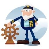 16831427-le-capitaine-du-navire-sur-la-mer