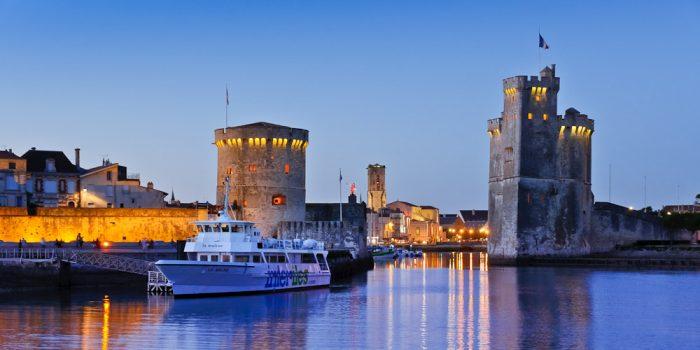 Tours au port de La Rochelle