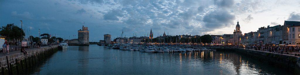 Panorama du port de La Rochelle