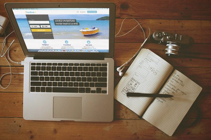 Mockup macbook et samboat