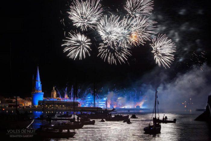 Les voiles de nuit 2015 à la Rochelle - Grand Pavois