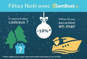 Cadeaux de Noël chez Samboat