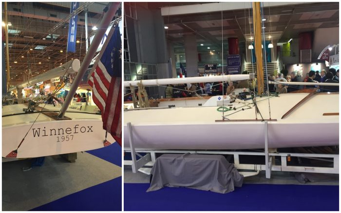 Winnefox : scow de classe de A au salon nautique de Paris Nautic 2015