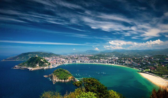 Croisière au pays basque espagnol : Saint Sébastien et la baie de la Concha