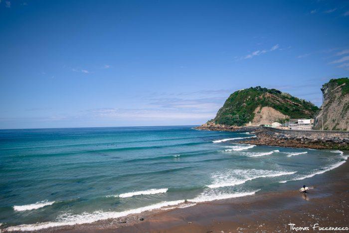 La plage de Getaria Pays Basque