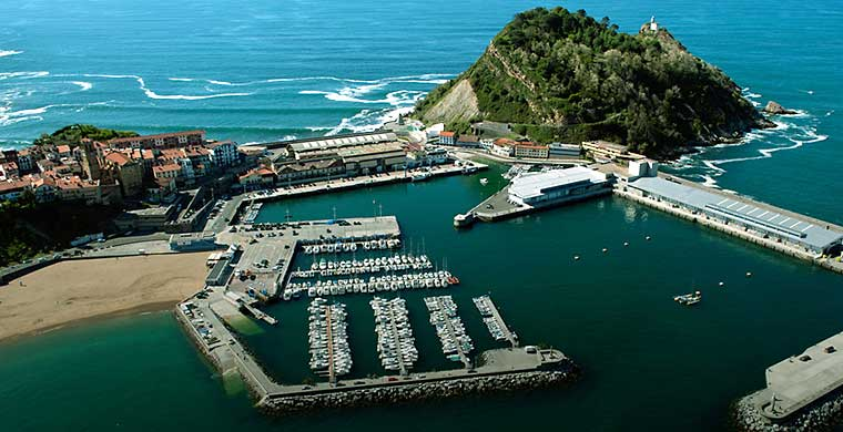 Le port de Getaria au Pays Basque