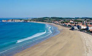 Plage de Saint-Jean de Luz au Pays Basque
