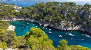 calanque port pin