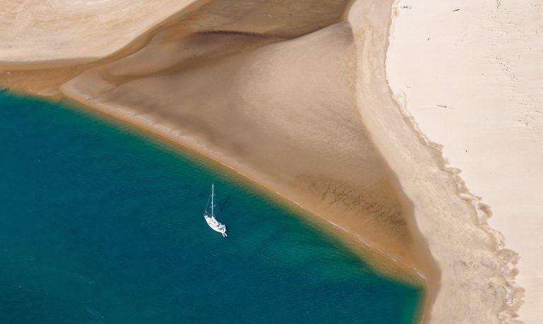 plage arcachon bateau