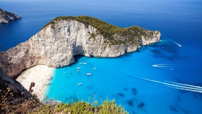 belle plage grece