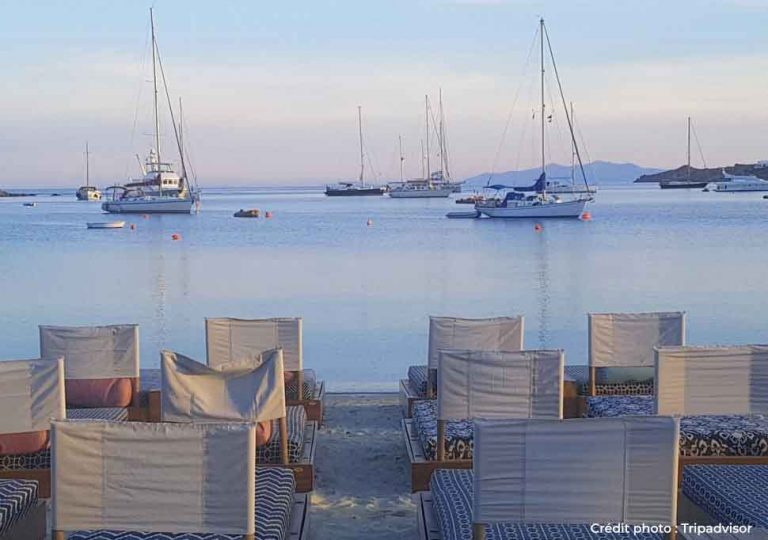 photo de bateau aux cyclades