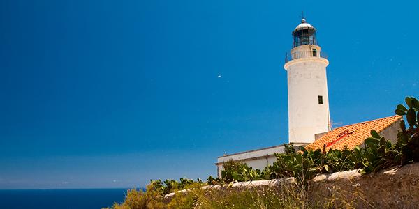 Photo du phare de Formentera.