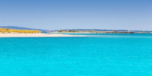 Espalmador et sa plage d'eau turquoise aux îles Baléares