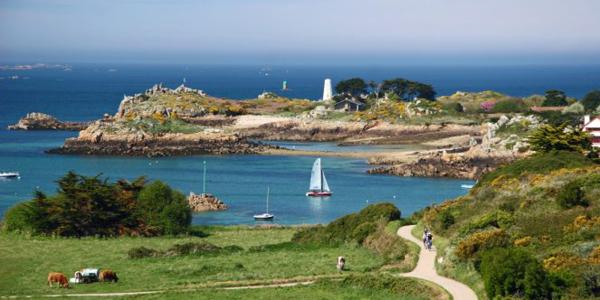 L'archipel de Bréhat en Bretagne
