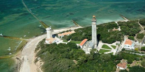 L'île d'Aix en Charente-Maritime et son phare