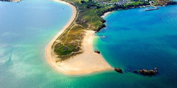 Un bout de l'île d'Houat