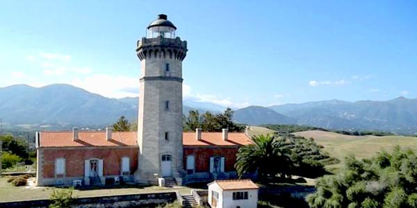 Le phare d'Alistro, un des plus beaux phares de France