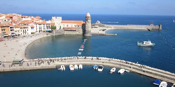 Le charmant port de Collioure