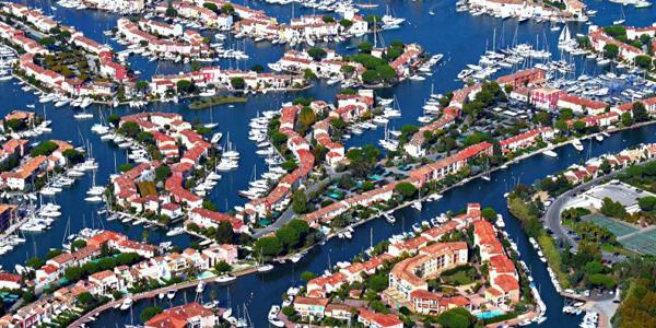 Le grand port Grimaud
