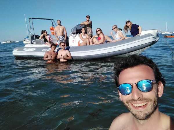 Sortie en mer avec l'application SamBoat