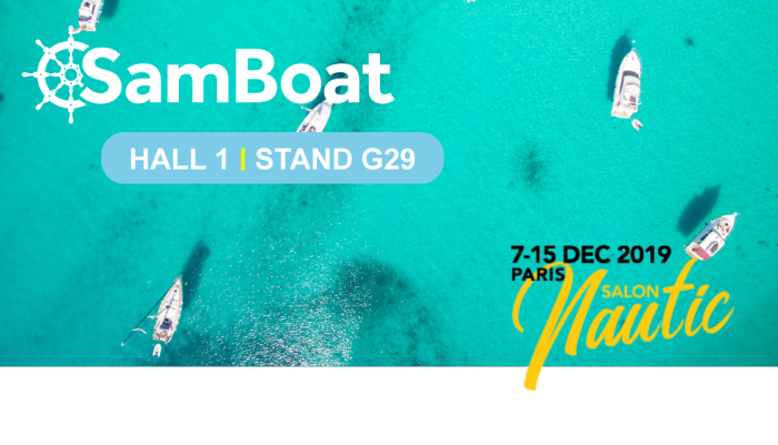 Samboat au Nautic 2019