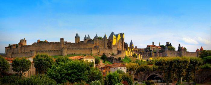 La Cité de Carcassonne, cite médiéval historique