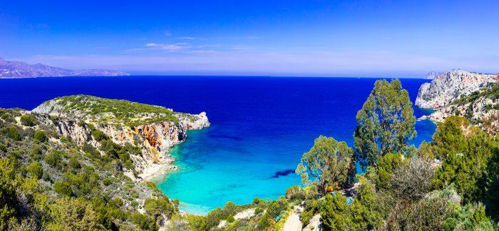 Baie d'Istron près d'Agios Nikolaos