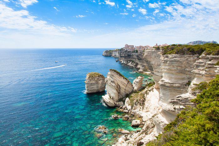 Falaises de Bonifacio, croisière Corse
