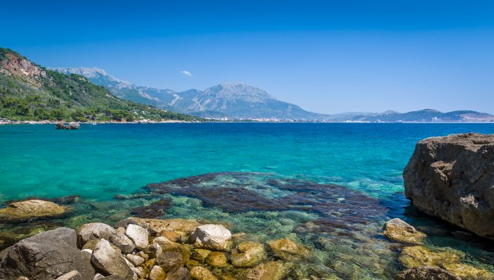 Croisière Monténégro, vue de la Mer Adriatique
