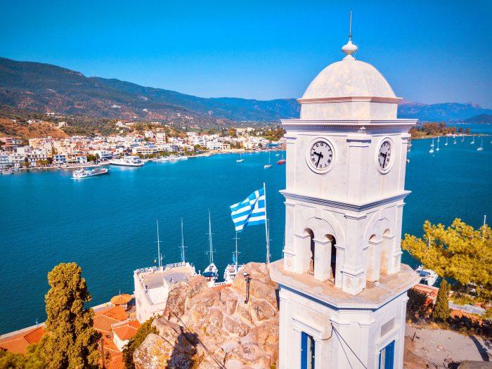 Tour de Poros, Grèce