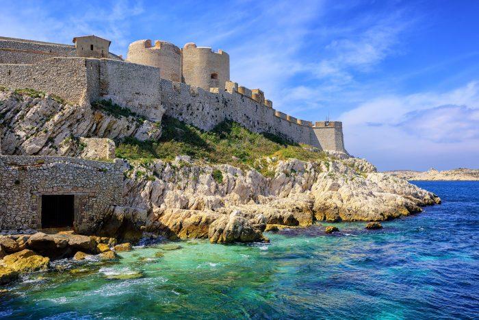 Château d'IF sur l'archipel de Frioul