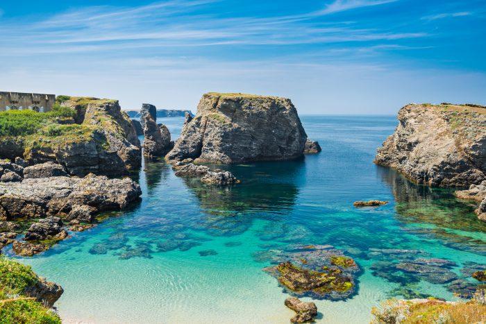 Belle Île, itinéraire de navigation en Bretagne