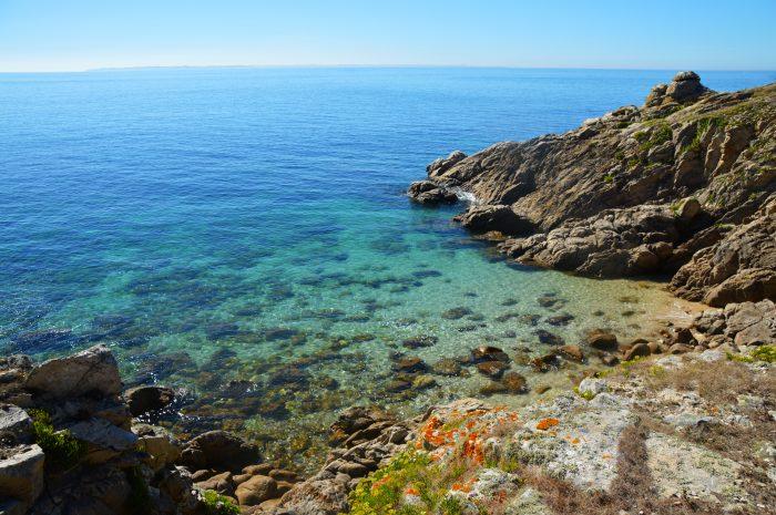 Île d'Hoedic, itinéraire de navigation en Bretagne