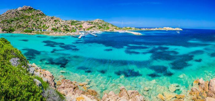 Maddalena, plus bel archipel de cette croisière en Sardaigne