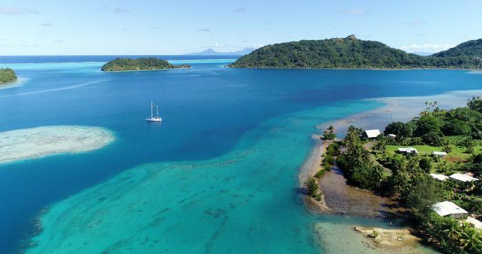 Île de Raiatea, point de départ de cet itinéraire de navigation en Polynésie