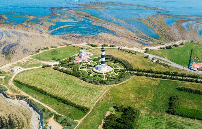 Le phare de Chassiron, au bout de l'île d'Oléron