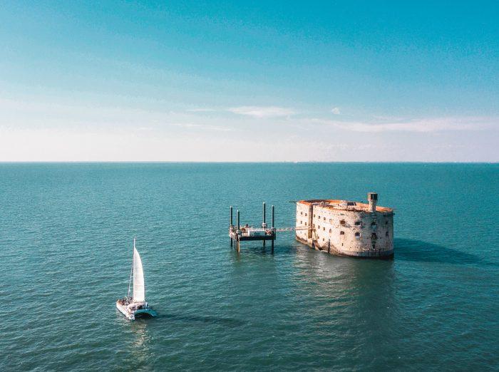 Le Fort Boyard, près de l'Île d'Aix