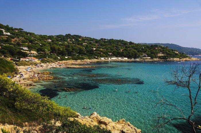 Plage l'Escalet dans le Golfe de Saint-Tropez