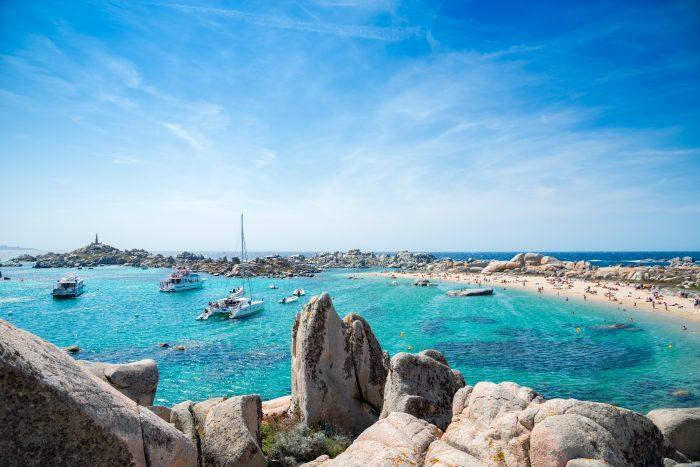 Archipel des îles Lavezzi en Corse