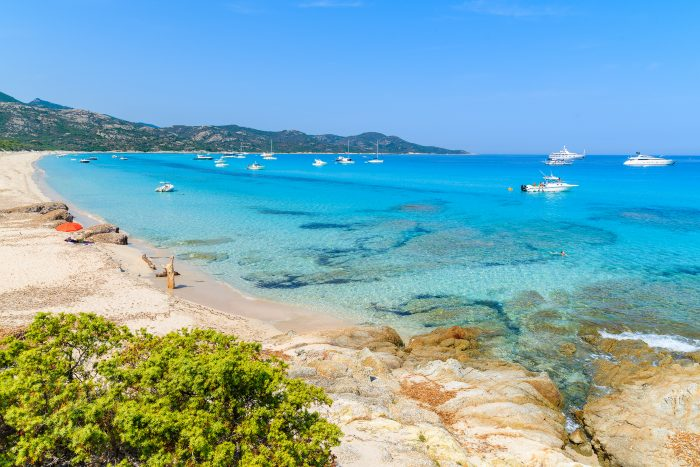 Plage de Saleccia, en Corse